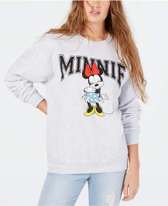Modern Lux Juniors' Disney Minnie Mouse Graphic Sweatshirt