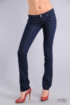 Paige Premium Denim Blue Heights Skinny Jeans in Eclipse