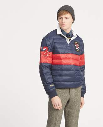Ralph Lauren Quilted Down Rugby Pullover