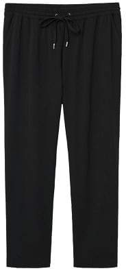 Violeta BY MANGO Flowy baggy trousers