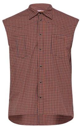 fc2e6e4a6b88b Boramy Viguier - Western Checked Sleeveless Cotton Shirt - Mens - White