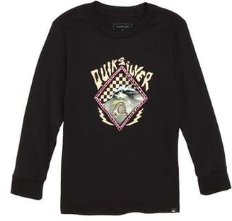 Quiksilver Graphic Long Sleeve T-Shirt
