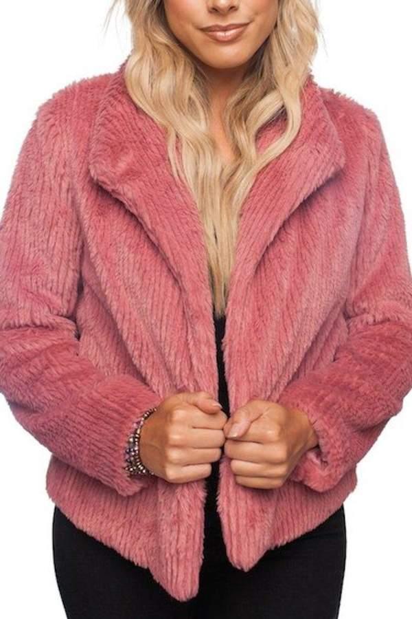 Buddy Love Faux Fur Jacket
