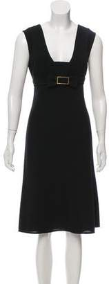 Valentino Wool Knee-Length Dress