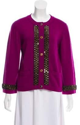 Chanel Paris-Byzance Embellished Cardigan