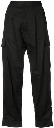 Tome high-waist cropped trousers