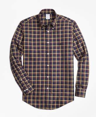 Brooks Brothers Non-Iron Regent Fit Macmillan Classic Tartan Sport Shirt
