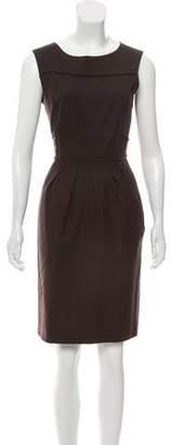 Philosophy di Alberta Ferretti Wool Sleeveless Dress