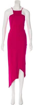Kimberly Ovitz Asymmetrical Maxi Dress
