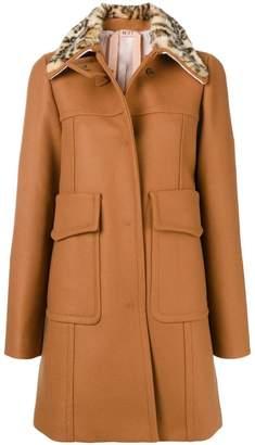 No.21 embellished winter coat