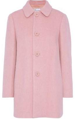 RED Valentino Brushed Wool-Blend Coat