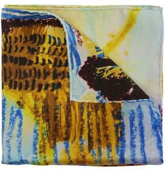 Paul Smith Pastel Mind Silk Pocket Square