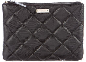 Kate SpadeKate Spade New York Quilted Leather Zip Pouch