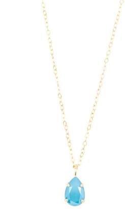 Rosaspina Firenze Azure Blue Drop Necklace