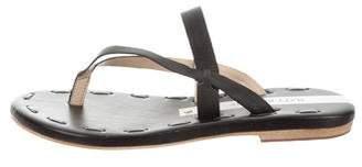 Matt Bernson Leather Slide Sandals