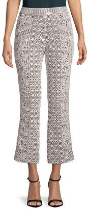 J. Mendel Women's Embroidered Lace Pants