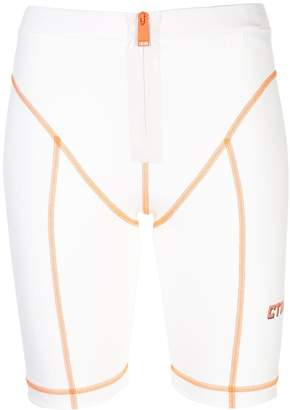 Heron Preston high-waisted cycling shorts