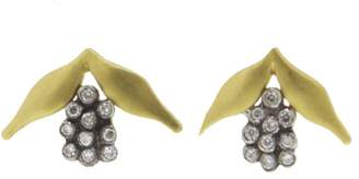Cathy Waterman Hyacinth Stud Earrings