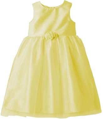 Marmellata Classics Girls 4-6x Marmellatta Classics Shantung Rosette Ballerina Dress