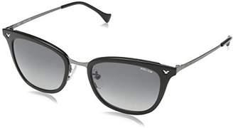 Police Sunglasses Women's SPL188 Impact 4 Wayfarer Sunglasses