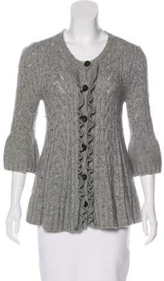 Juicy Couture Cashmere-Blend Button-Up Cardigan