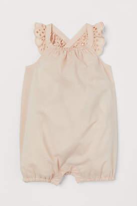 H&M Cotton romper suit