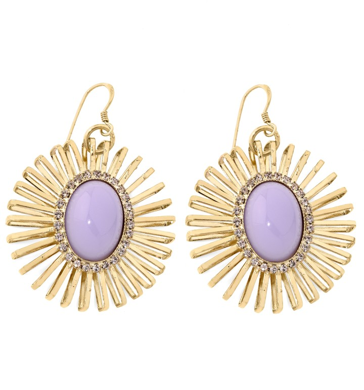 Anton Heunis Lilac Wire Set Earrings