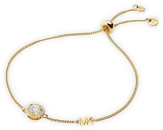 Michael Kors Crystal Halo Slider Bracelet