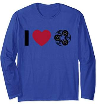 I Love Spinning Funny T-Shirt Lovely Trendy Spinner Gift
