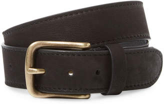 Berge Distressed Belt With Buckle
