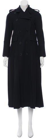 ValentinoValentino Virgin Wool Pleated Coat