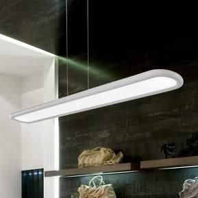 Strahlende LED-Hängeleuchte NET lang