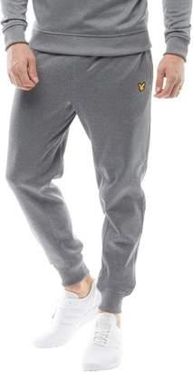 Lyle & Scott Fitness Mens Finney Core Track Pants Mid Grey Marl