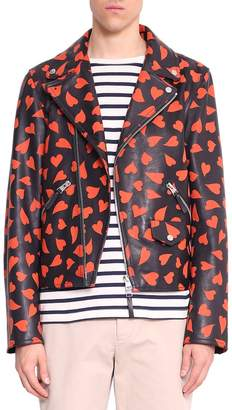 J.W.Anderson Hearts Leather Jacket