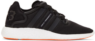 Y-3 Black Yohji Run Sneakers $290 thestylecure.com