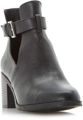 Head Over Heels Paradey Buckle Strap Ankle Boots