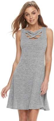 JLO by Jennifer Lopez Women's Strappy Fit & Flare Dress