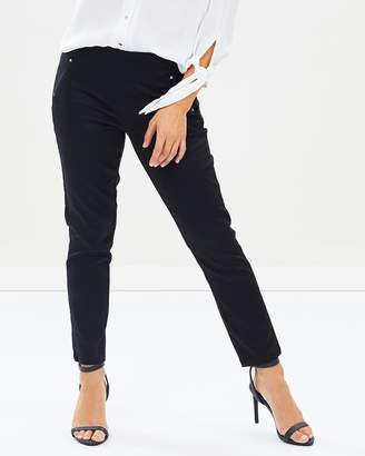 PETITE Stretch Capri Pants