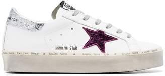 Golden Goose doodle star embellished leather sneakers