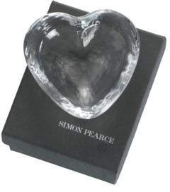 Simon Pearce Heart Dish