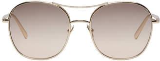Chloé Gold Nola Sunglasses
