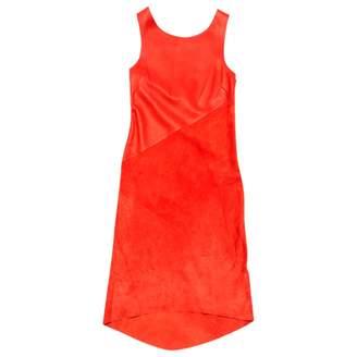 Rag & Bone Red Leather Dresses