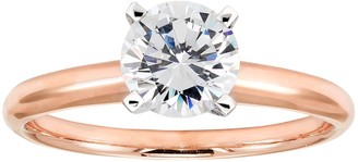 Evergreen Diamonds 1 1/2 Carat T.W. IGL Certified Lab-Created Diamond Solitaire Engagement Ring