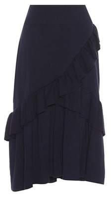 Ulla Johnson Lorraine cotton and cashmere skirt