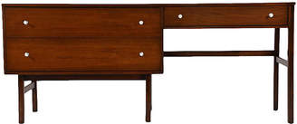 One Kings Lane Vintage Mid-Century Desk by Basset Furniture - Castle Antiques & Design