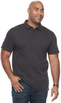 Apt. 9 Big & Tall Core Interlock Heather Polo Shirt