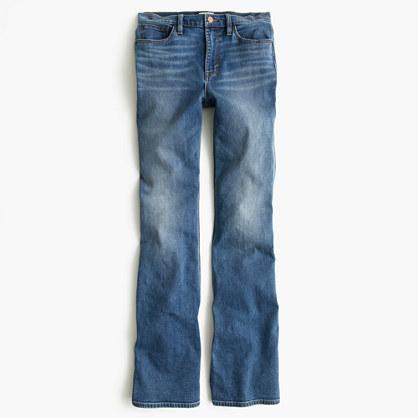 J.CrewPetite flare jean in Parkmount wash