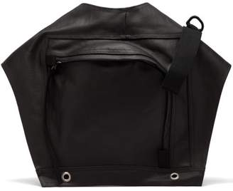 Rick Owens Rubberised Cotton Utility Belt Bag - Mens - Black