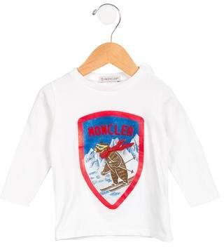 """Moncler Boys' """"Malia"""" Long Sleeve Shirt"""
