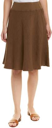 Three Dots Ava Linen Skirt